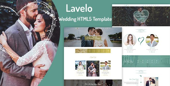 Lavelo - Wedding HTML5 Template by wpoceans