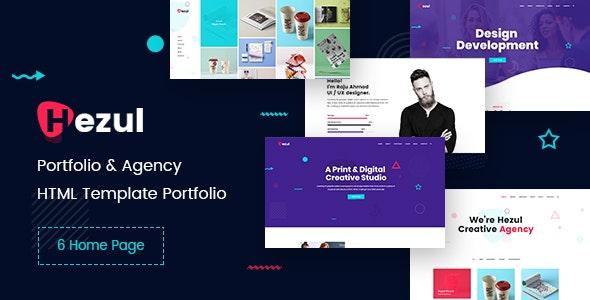 Hezul - Portfolio & Agency HTML Template - Portfolio Creative
