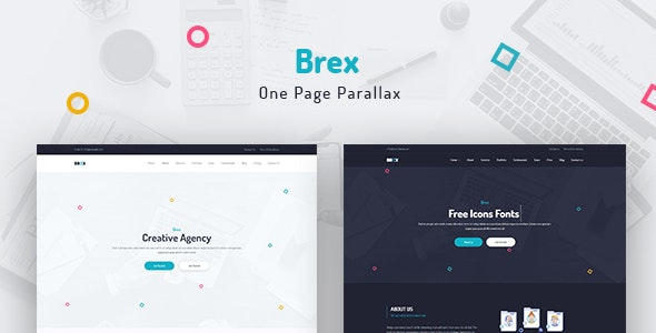 Brex - One Page Parallax - Creative Site Templates