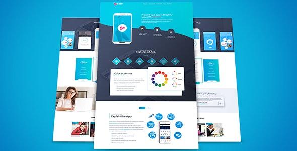 5starApp - App Landing Page - Landing Pages Marketing
