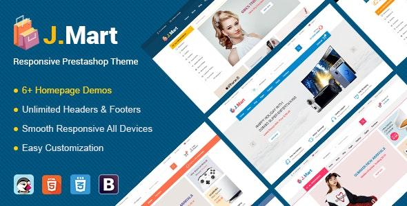 JMart - Premium Responsive Prestashop Theme - Shopping PrestaShop