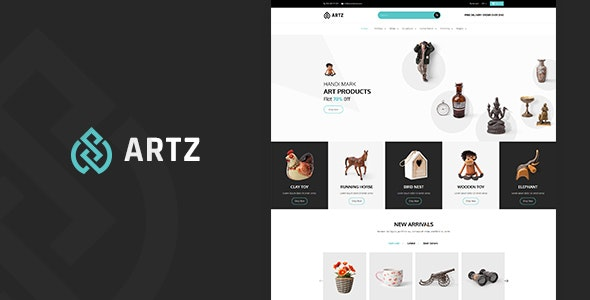 Artz | Art, Photography Shopify Theme by BuddhaThemes | ThemeForest