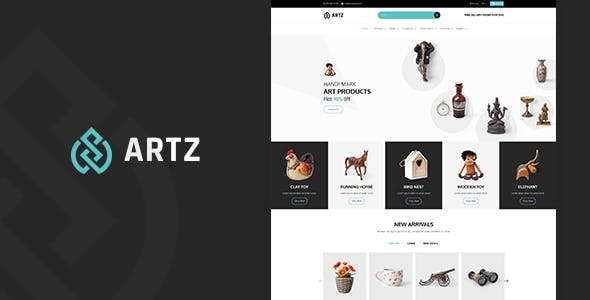 Artz   Art, Handmade Shop Shopify Theme