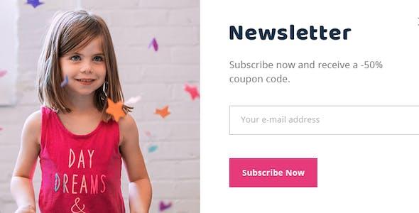 LittleAngel - Store eCommerce PSD Template