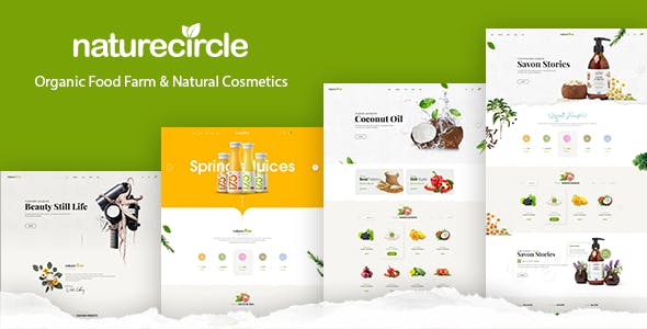 NatureCircle - Organic Theme for WooCommerce WordPress by roadthemes
