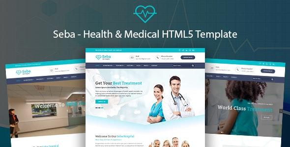Seba | Health & Medical HTML5 Template - Health & Beauty Retail