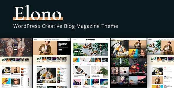 Elono - WordPress Blog Magazine Theme - News / Editorial Blog / Magazine