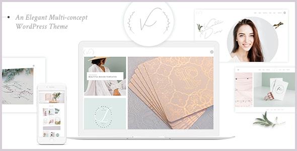 Kanna - An Elegant Multi-concept WordPress Theme - Creative WordPress