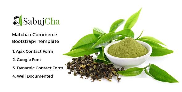 Sabujcha - Tea Store HTML Template - Food Retail