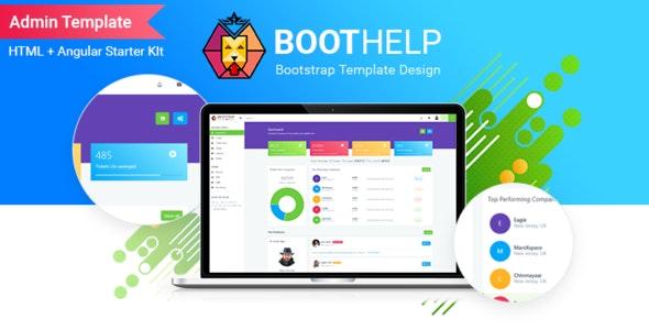 BootHelp | Bootstrap Admin Dashboard HTML  PSD  Angular Starter kit - Admin Templates Site Templates