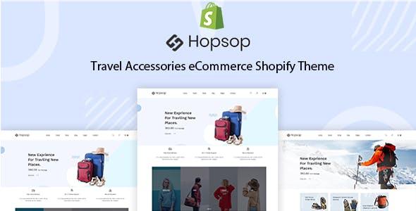 Hopsop - Travel & Tour Accessories Shopify Theme