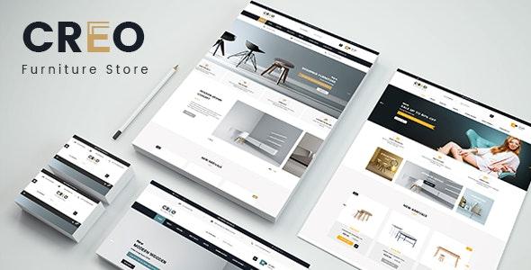Creo - Designer Interior Furniture Responsive PrestaShop 1.7 Theme - Shopping PrestaShop