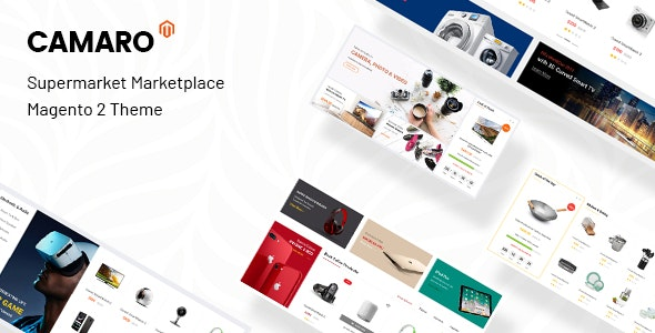 Camaro - Gadgets & Digital Fashion Super Market Magento 2