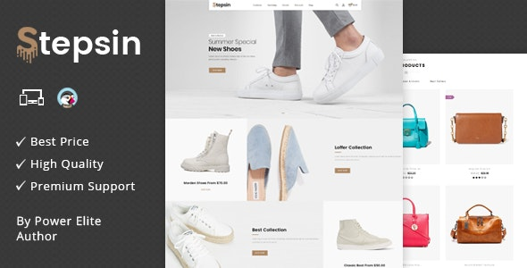 Stepsin - Responsive Prestashop 1.7 Theme - Shopping PrestaShop