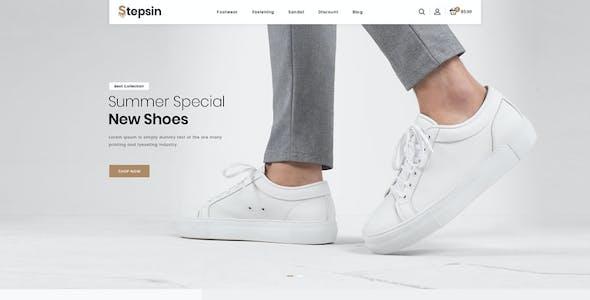 Stepsin - Responsive Prestashop 1.7 Theme