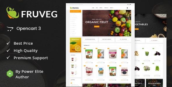 Fruveg - Responsive Opencart 3.0 Theme - Health & Beauty OpenCart