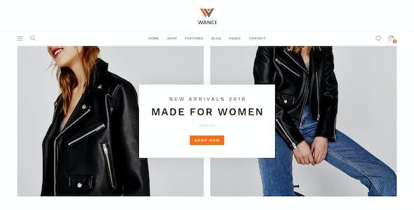 Wanci - Responsive Fashion Prestashop Theme