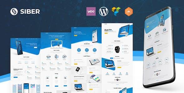 Siber - SaaS, Software & Mobile App WordPress