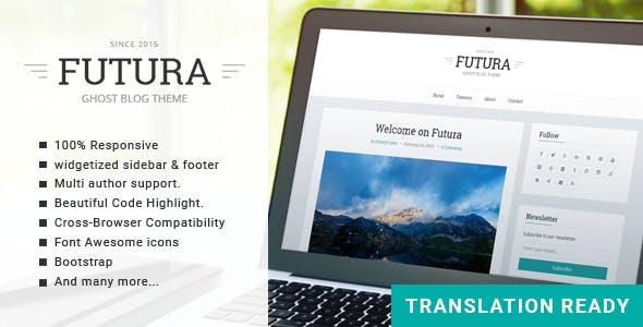 Futura - Responsive Minimal Ghost Theme