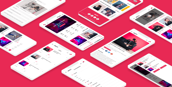 Jazy - eCommerce Mobile Template - Mobile Site Templates