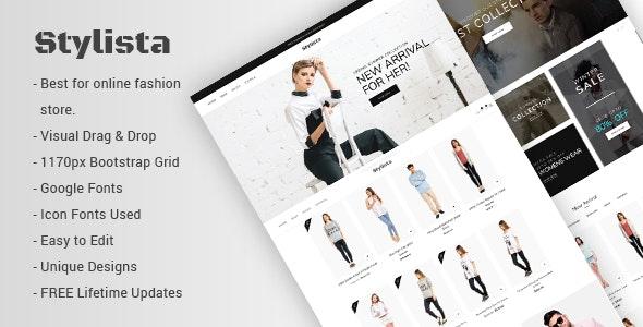 Stylista - Responsive Fashion WooCommerce WordPress Theme - WooCommerce eCommerce