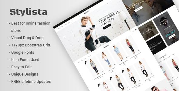 Stylista - Responsive Fashion WooCommerce WordPress Theme