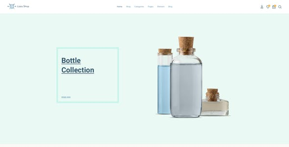Laza - Mutilpurpose eCommerce Sketch Template