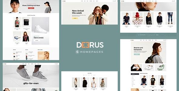 Deerus - Fashion Shopify Theme - Shopify eCommerce