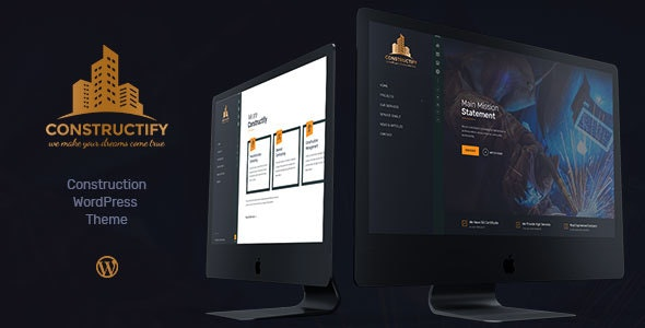 Constructify | Construction WordPress Theme - Business Corporate