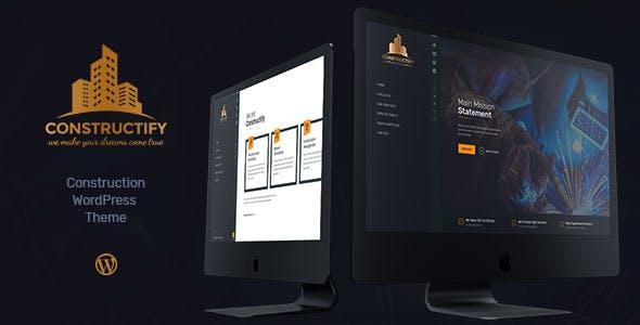Constructify | Construction WordPress Theme
