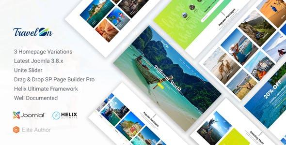 TravelOn - Travel, Tour, Travel Agency Joomla Template