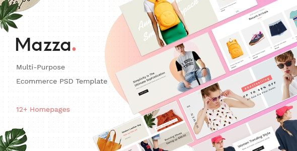 Mazza - Multipurpose Ecommerce PSD Template - Shopping Retail