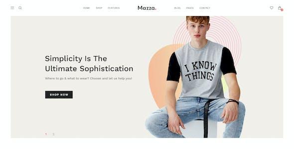 Mazza - Multipurpose Ecommerce PSD Template