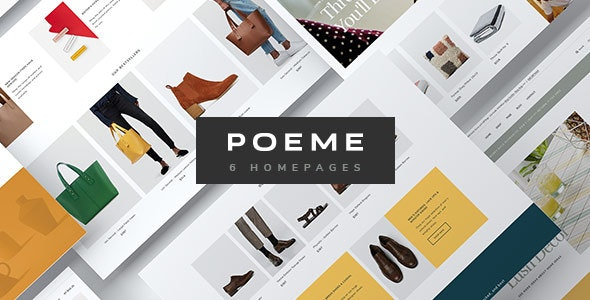 Poeme - Dynamic Multipurpose WooCommerce WordPress Theme - WooCommerce eCommerce