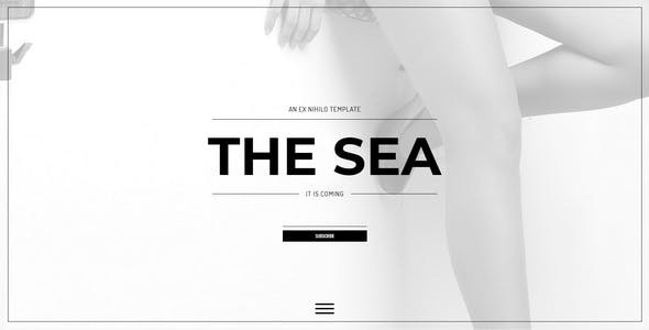 Light Burn Website Templates from ThemeForest