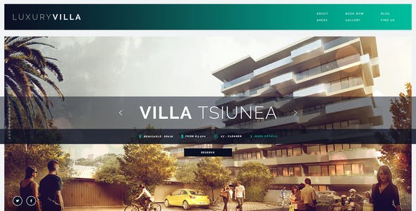 Luxury Villa - Property Showcase WordPress Theme