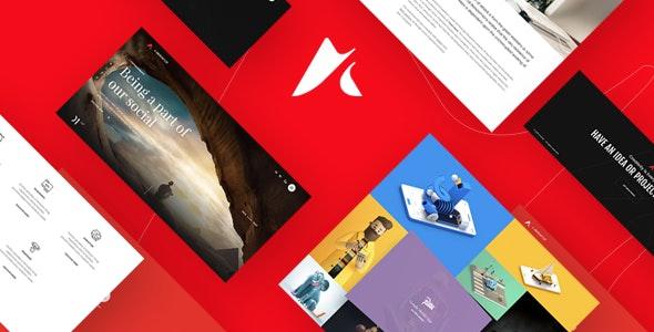 Anchor | Freelancer & Creative Agency Portfolio - Portfolio Creative