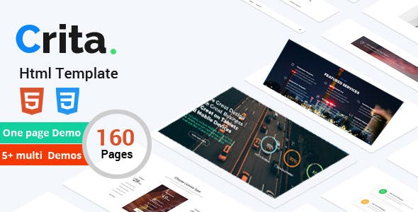 Crita | The Responsive Multi-Purpose HTML Template