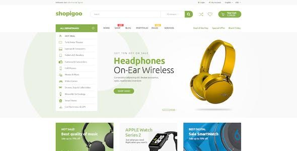 shopigoo - Multiuse eCommerce PSD Template