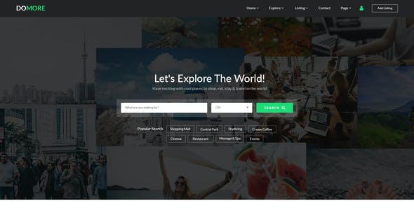 DoMore   Directory & Listing PSD Template