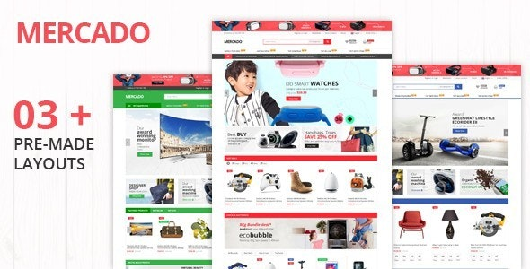 Mercado - Ecommerce HTML Template - Shopping Retail