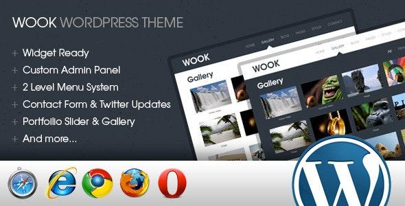 Wook – 2 in 1 Portfolio & Business Wordpress - Business Corporate