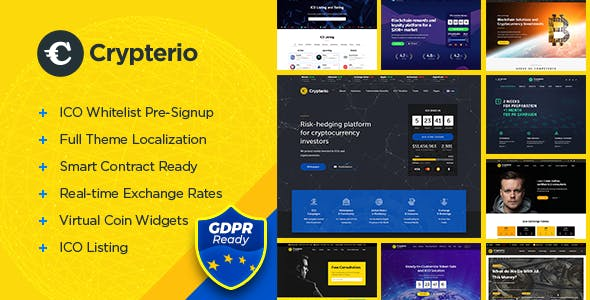 Currency Exchange Templates from ThemeForest