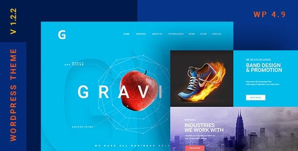 Gravitify | Multipurpose Business WordPress Theme - Business Corporate