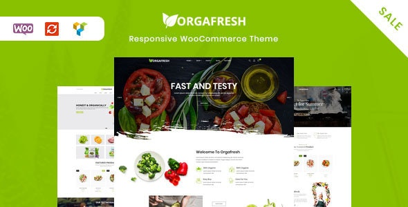 Orgafresh | Organic & Food WooCommerce WordPress Theme - WooCommerce eCommerce