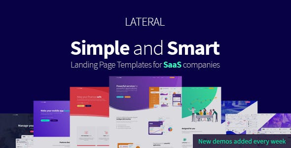 Software Company Website Templates from ThemeForest