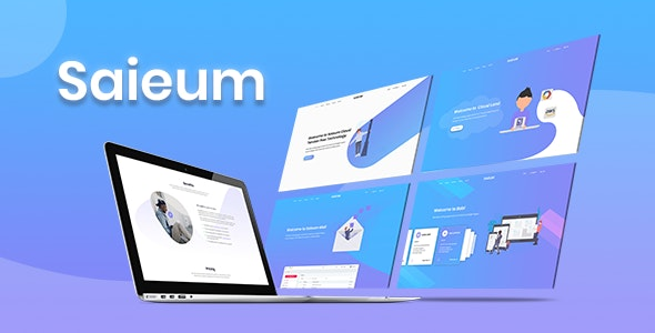 Saieum - Software, App & Product Showcase Landing HTML Template - Marketing Corporate