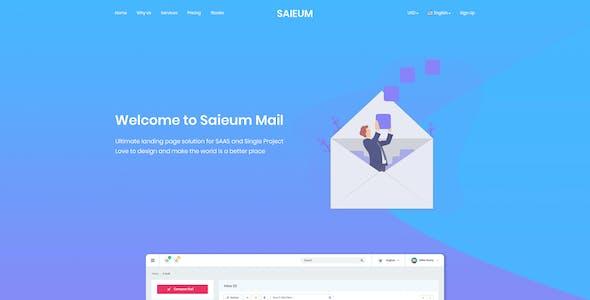 Saieum - Software, App & Product Showcase Landing HTML Template