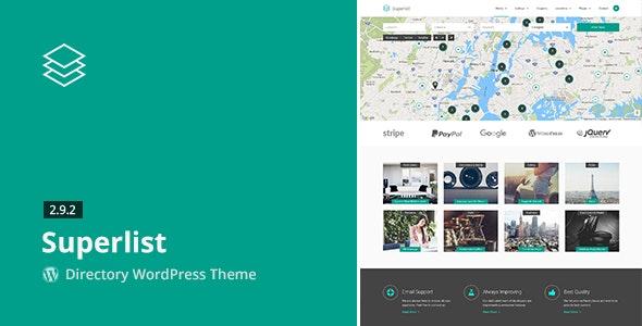 Superlist - Directory WordPress Theme by aviators | ThemeForest