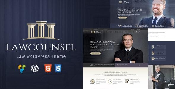 LawCounsel - Lawyers WordPress Theme - Business Corporate